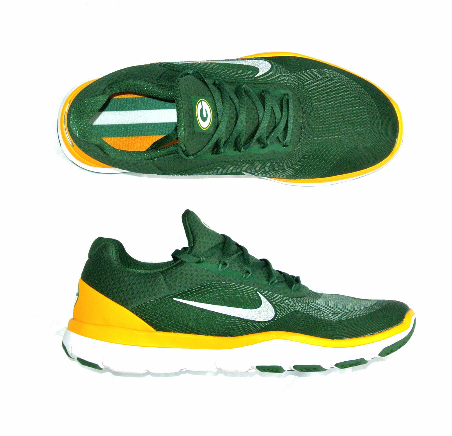 Nike Mens 11 Green Bay Packers Free Trainer V7 Week Zero Limited Edition