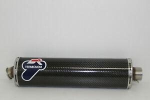Termignoni-Auspuff-Endschalldaempfer-Carbon-Oval-Universal-Durchm-55mm
