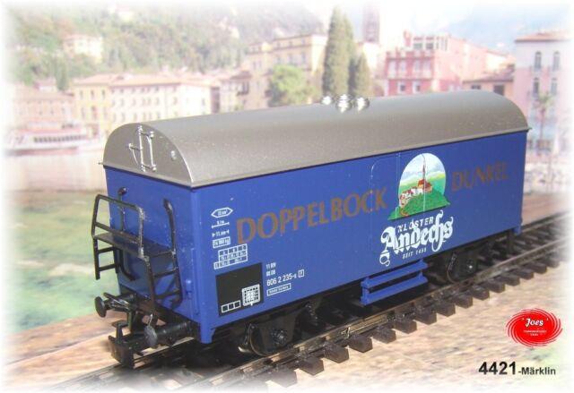 4421 Märklin - Bierwagen Brasserie Monastique Andechs - Neuf Emballage Scellé