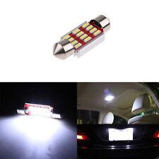 Auto Lampade Siluro Canbus Festone 36mm 12SMD 4014 LED Interno Targa Luce