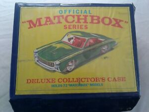Official-Matchbox-Series-Deluxe-Collector-s-Case-72-Cars-1968-Extra-Tray