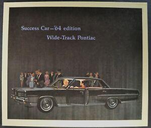 1964 Pontiac Bonneville Star Chief Grand Prix Catalina  Deluxe Sales Brochure