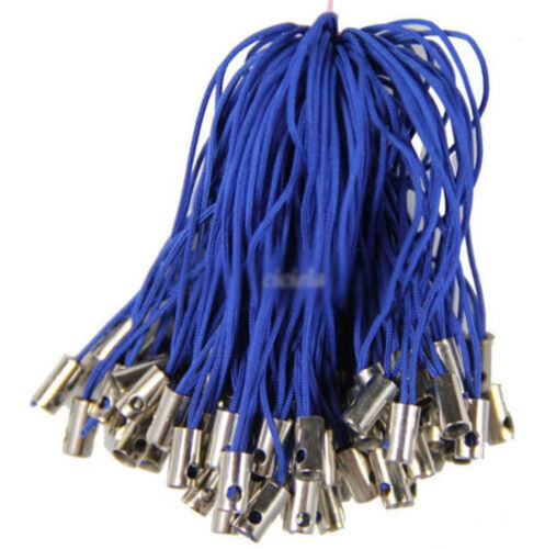50//100Pcs Nylon Camera Mobile Phone Dangle Strap String Thread Cord Finding 52mm