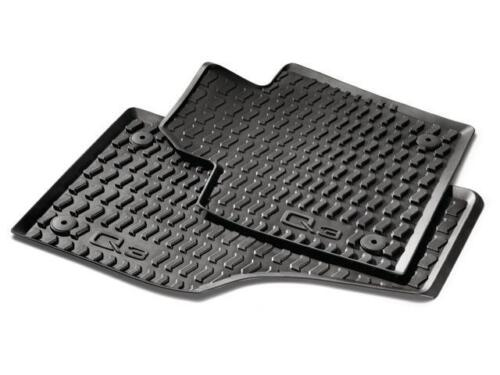 2015-2018 AUDI Q3 ALL  WEATHER RUBBER MATS  FRONT AND REAR