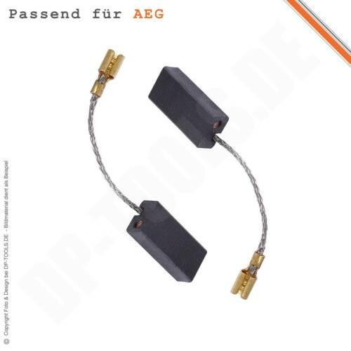 Kohlebürsten Motorkohlen Kohlen für AEG WS 115 5x8mm