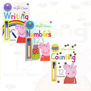 Peppa-Pig-Practise-with-Peppa-Collection-3-Books-Set-Writing-Numbers-Counting