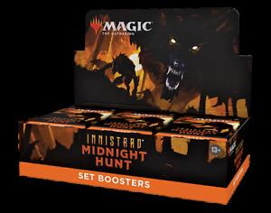 Set Booster Box 30 ct. Innistrad Midnight Hunt MID MTG NEW