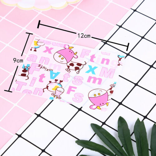 100pcs cartoon print diy waterproof dry wax papers food candy wrapping tissue UK