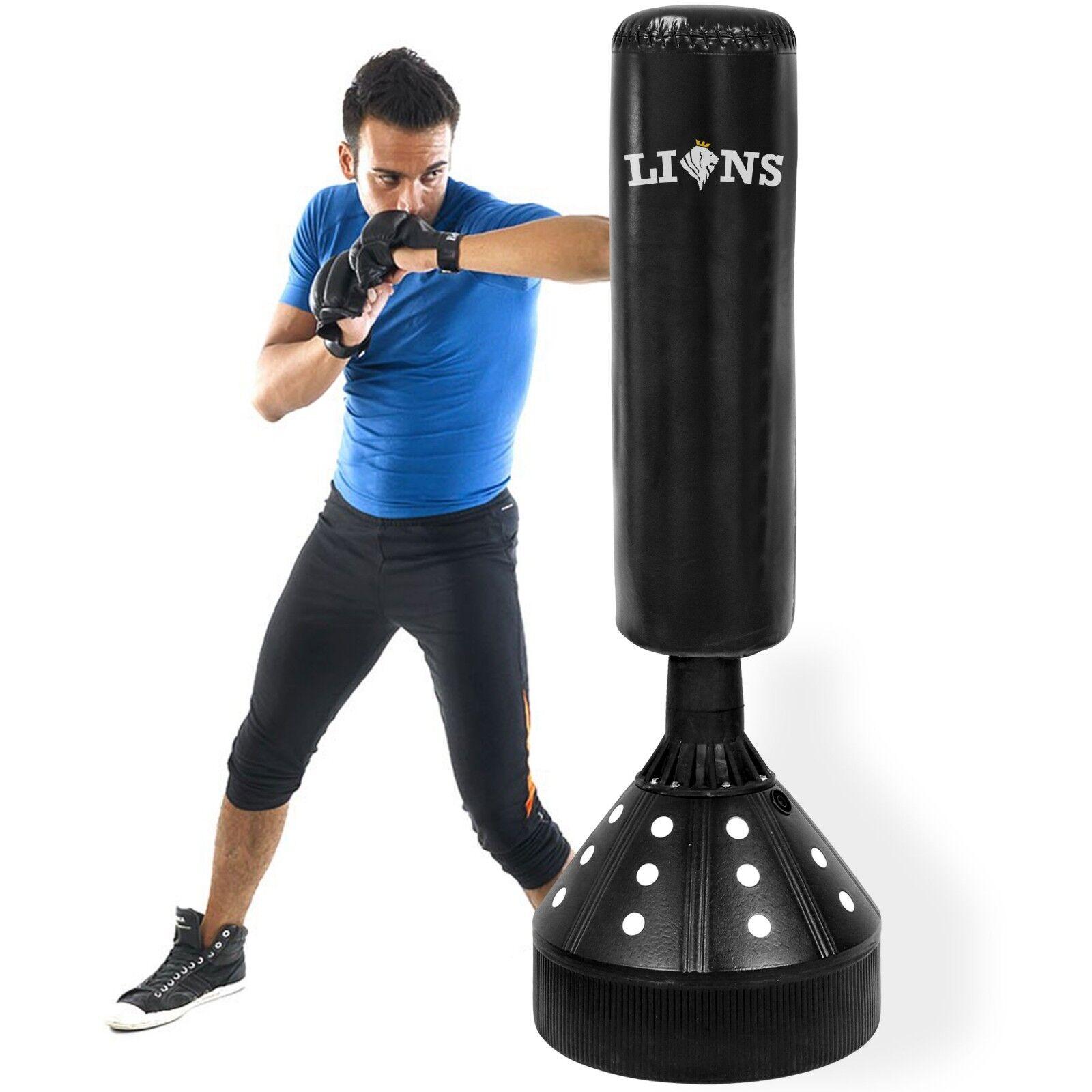 Boxen Freistehend 6ft 6ft 6ft Boxsack Ständer Mma Schlagen Trainingshandschuhe Kickboxen 436ef5