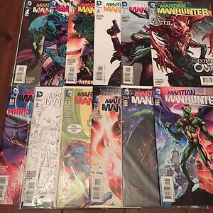 Martian-Manhunter-1-12-Complete-Set-2015-2016-DC-Comics-New-52