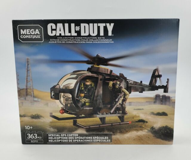 Mega Construx Call of Duty Special Ops Copter GCP11
