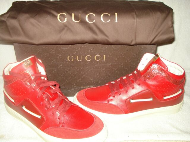 100% AUTHENTIC NEW MEN GUCCI RED