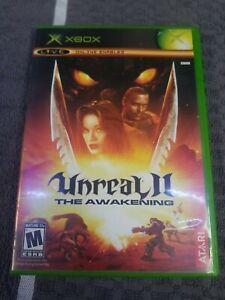 Unreal-II-The-Awakening-Microsoft-Xbox-2004-Complete-CIB-Tested