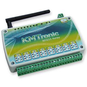 KMTRONIC RF433MHz 8 Kanal Relai Relaiskarte (relaisplatine<wbr/>) 12V