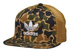 Details about Adidas Originals Camouflage Trucker Snapback Cap Baseball Hat CE4869
