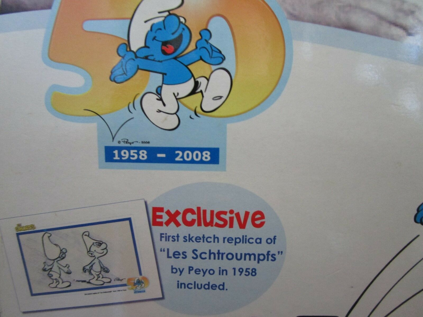 NOS    The Smurfs 50th Anniversary Special Edition  F S b3f1b7