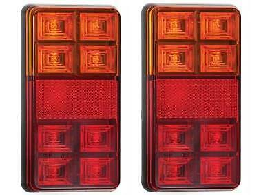 LED 151BAR STOPTAILINDICATOR LAMP 12V WREFLECTOR