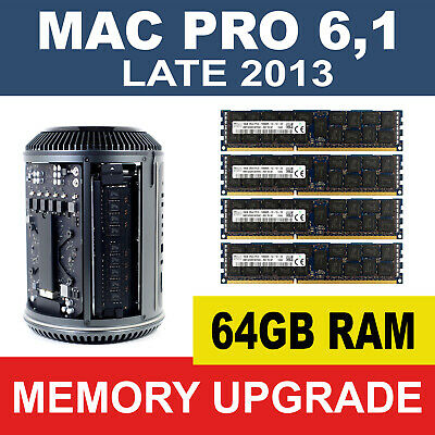DIMM Apple Mac Pro Late 2013 A1481 MacPro 6,1 Memory Ram 4 X 8GB 32GB
