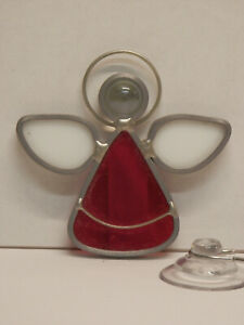 Stained-Glass-Mini-Angel-Red