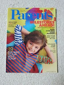 Parents Magazine January 2015 Milestones Ahead Raise A Kid With