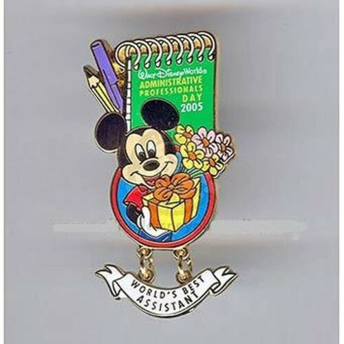 Administrative Professionals Day 2005 Mickey Mouse LE 1500 Disney Pin VHTF