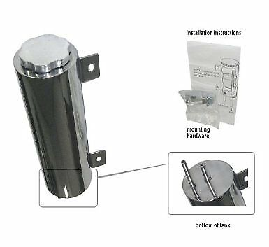 Radiator Overflow Tank//Catch Can 3 x 10,Stainless Steel fits 1987-2006 Wrangler