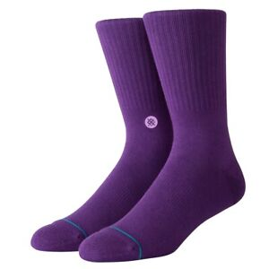Stance-Neuf-pour-Homme-Icone-Chausettes-Violet-Neuf-avec-Etiquette