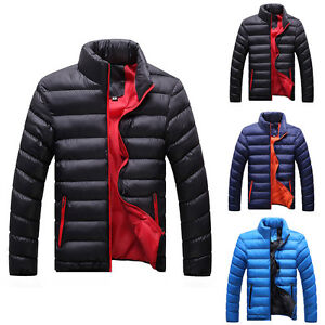Men-039-s-Casual-Winter-Warm-Outwear-Slim-Fit-Padded-Thicken-Coat-Jacket-Overcoat