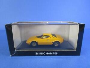 MINICHAMPS-LANCIA-STRATOS-1972-78-YELLOW-1-43-MIB