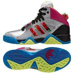Szczegóły o Adidas Originals StreetBall 1.5 D74414 Metallic SilverMagentaBlack Men's Shoes
