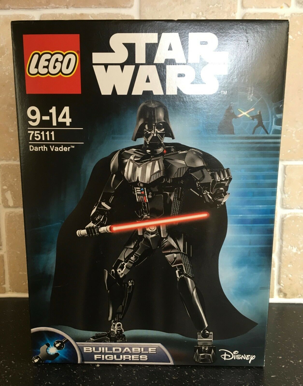 LEGO STAR WARS - 75111 Darth Vader Buildable Figure Brand New In Sealed Box