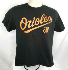 MLB-Baltimore-Orioles-Short-Sleeve-Tee-Shirt-Mens-M-EUC