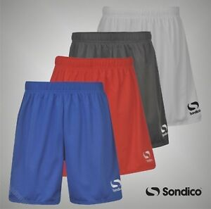 Junior-Boys-Sondico-Leger-Core-Football-Short-Pantalon-Taille-Bas-7-13-Ans