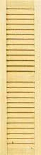 Dollhouse 1//2 Scale HouseWorks Louvered Shutter Set HWH5025