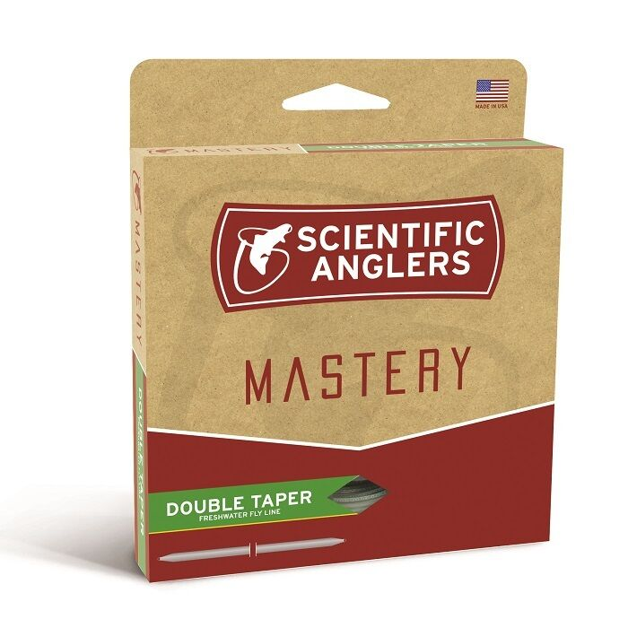 Scientific Anglers Mastery Double Taper Fly Line - DT6F - NEW