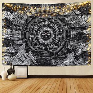Luna Y Estrella Tapiz Colgante De Pared Arte mantas tapices de pared para el Hogar Habitación