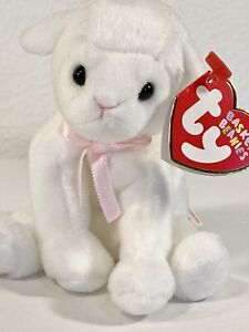 *BASKET BEANIES* TY LULLABY the Lamb Easter *Ornament*