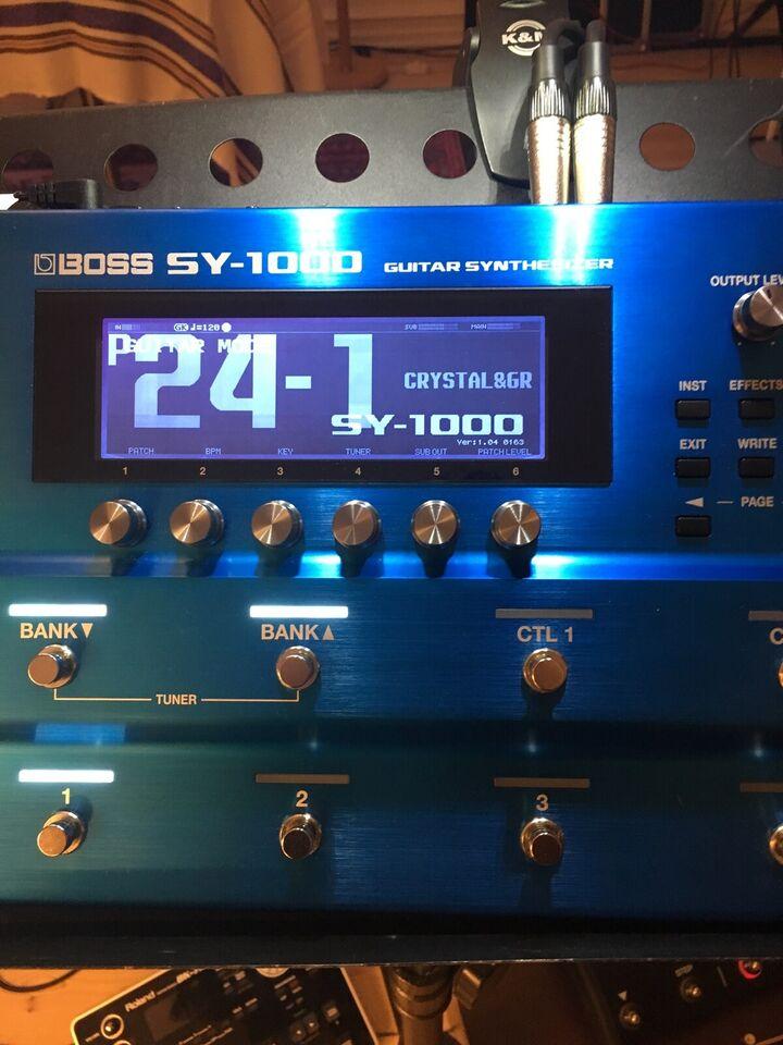 Guitar Synth, Boss SY-1000