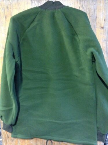 Unissued Size 190//104 Military Fleece Thermal Liner Green Large new
