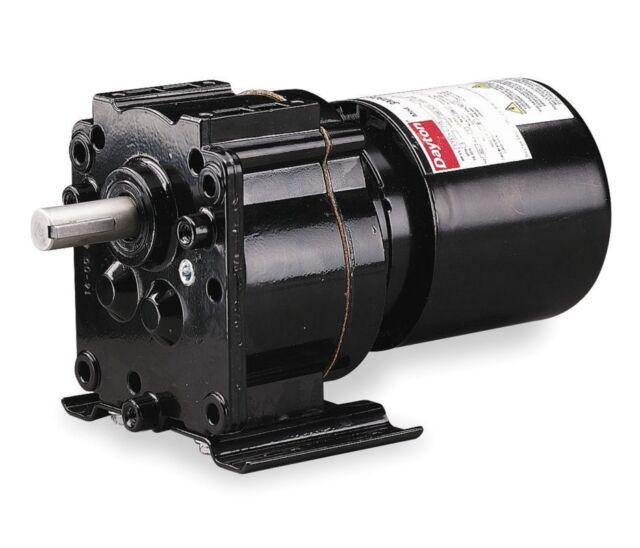 Dayton 3M154 Reversible Gear Motor 10RPM 115V 60Hz