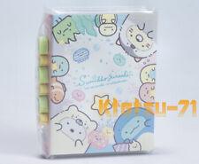 Sumikko Gurashi Pata Pata Memo pad with 6 Mini Eraser San-X 46201
