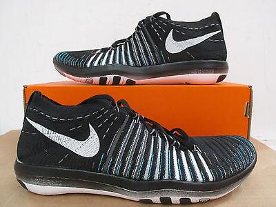 Nike Free Transform Flyknit Women`s Running Trainers Shoes 833410 001 Black