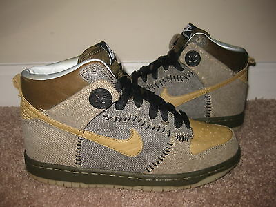 big sale f4cf9 5d06b new zealand nike dunk sb high coraline us mens size 5 373349 771 rare pre  owned