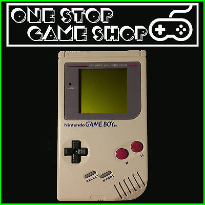 Nintendo Gameboy Original Console (Off-White) DMG-01  - 30 Day Warranty!