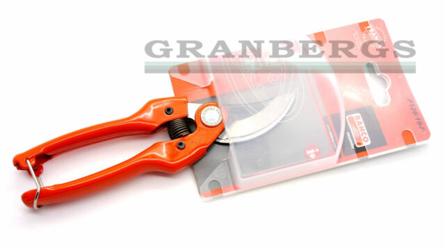 Bahco Secateur Pruners By-Pass P126-19-F Gardening Tools Quality Steel Swedish