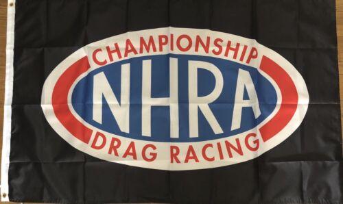 NHRA Black Flag 3x5 Drag Racing Banner Garage Man Cave