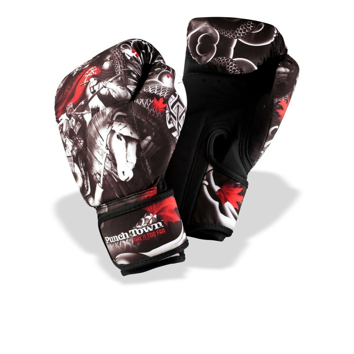 Punch Battle Town Oni Battle Punch Washable Boxing Gloves 50e003