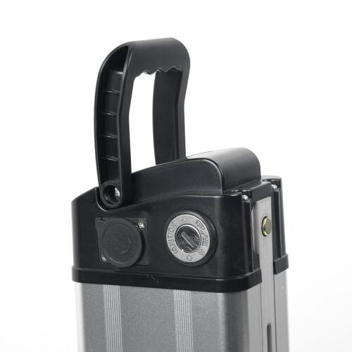 36V 48V Battery Case Box Case For Electric Bike Folding E-bike Kit /& Top Cover