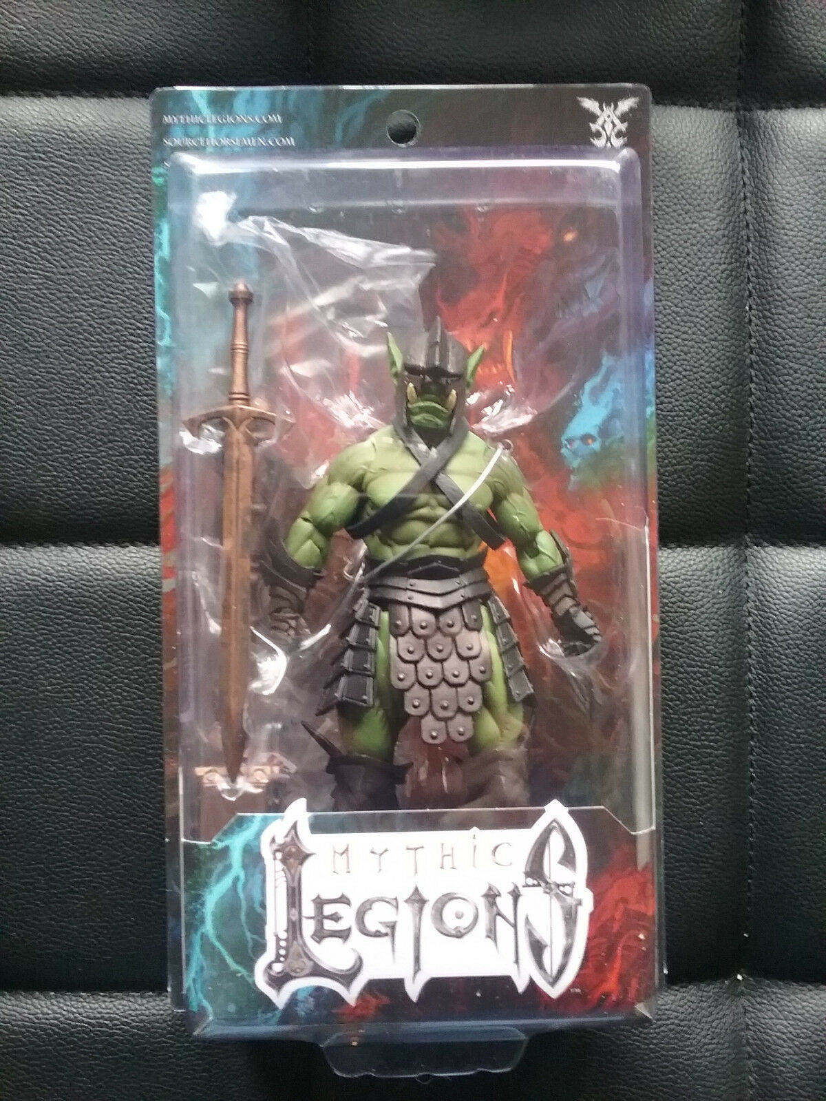 Mythic Legions Coliseum Orc Legion Builder  Figure    Four Horsemen NEW 366cf2