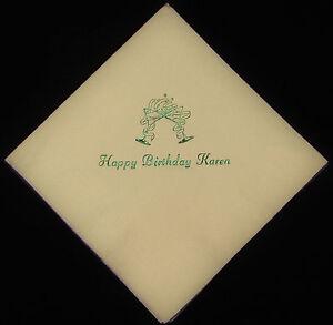 750 Personalized luncheon napkins custom printed wedding napkins free shipping